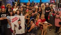 TMZ's Halloween Pics -- Khloe & Lamar, Bunny Ranch Babes and NWA X 2!