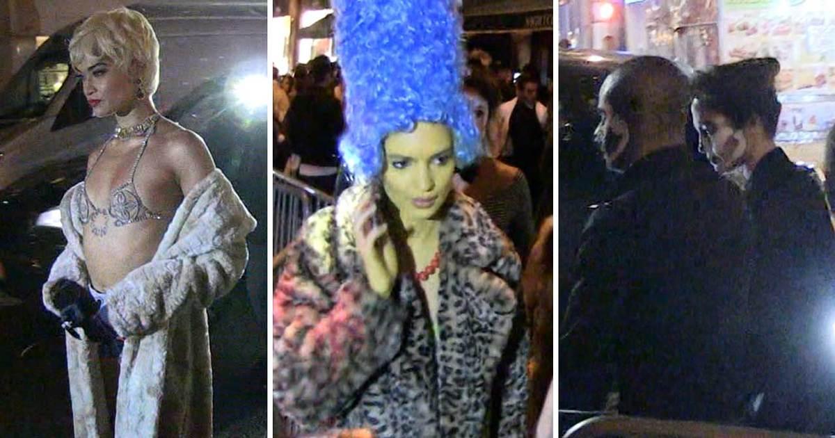 Heidi Klum Throws Model Halloween Party | TMZ.com