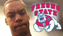 Fresno State Football -- Player Cut From Team ... After Death Threat Arrest