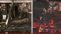 Johnny Mathis -- Singer's Iconic Mansion Burns Down
