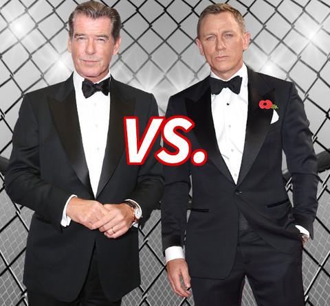 Better Bond? Pierce Brosnan (62) vs. Daniel Craig (47)