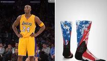 Kobe Bryant -- Turns Down NBA Military Socks ... Here's Why