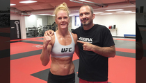 Holly Holm -- I'M RIPPED ... And Ready for Rousey