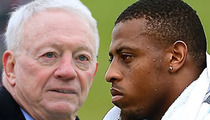 Jerry Jones -- We Support Greg Hardy ... But We Didn't See the Pics