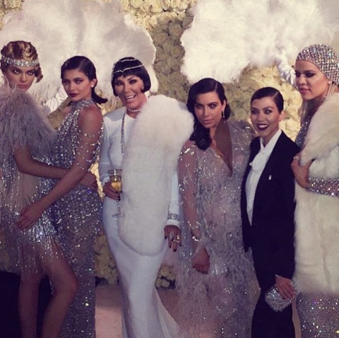"""<a href=""""http://www.tmz.com/person/kris-jenner/"""" target=""""_blank""""><span>Kris Jenner</span></a><span>'s birthday party did not disappoint ... it was every bit the $2 million bash, with a Great Gatsby theme right down to the cars and the flappers, fireworks and a whole lot of food.</span>"""