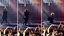 5 Seconds of Summer--Guitarist Takes Nasty Spill ... Lands Off Stage
