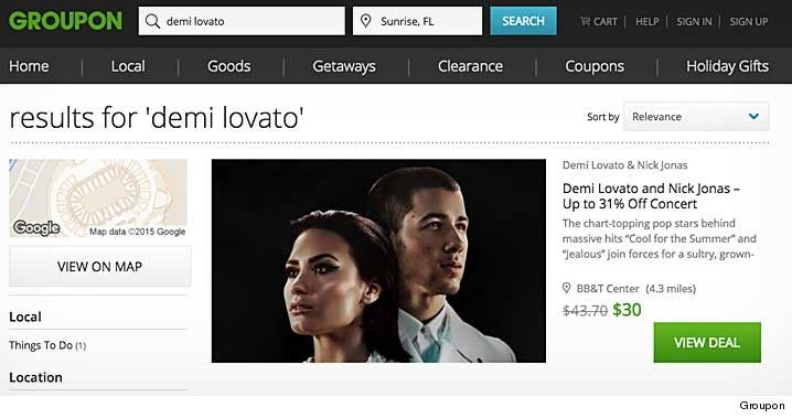 Demi lovato tour 2016 vip pretty girls not that those will set you back much tickets are already on groupon m4hsunfo