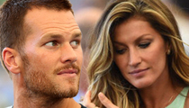 Gisele -- Considered Ditching Tom ... When He Knocked Up Ex-GF