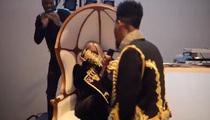 Iman Shumpert & Teyana Taylor -- The Proposal Video ... (Well, Most of It)