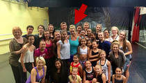 Britney Spears Hijacks Vegas Dance Class For 'Happy' Surprise