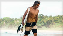 Pro Surfer -- Coma After Shark Attack ... Bite Wound to Left Leg
