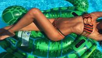 Guess Whose Bikini Bod -- See the Poolside Hottie!