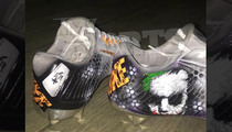 NFL's Mohamed Sanu -- Batman's Gonna Hate My New Cleats