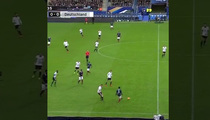 Paris Shootings -- Explosion Rocks Soccer Match (VIDEO)