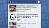 Paris Attacks -- Facebook Activates 'Safety Check'