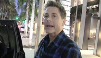 Rob Lowe -- Radio Silent After Critical Paris Tweets