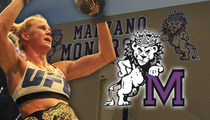 Holly Holm -- High School Honoring UFC Champ ... 'Inspiration to Our Female Athletes'
