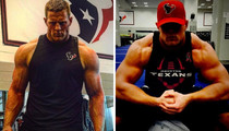 25 Jacked Up Shots Of J.J. Watt To Tackle Your #MCM Blues!