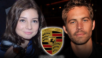 Paul Walker -- Porsche Blames Him for His Own Death
