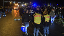 Germany vs. Netherlands -- STADIUM EVACUATED ... Game Cancelled