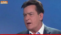 Charlie Sheen -- I'm HIV Positive ... and I've Been Blackmailed for Millions Over It