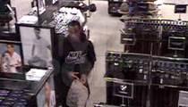 NFL's Joseph Randle -- Video Of Infamous Underwear Theft ... Revealed (VIDEO)