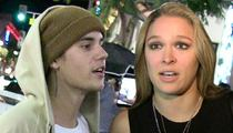 Justin Bieber -- Apologizes to Ronda Rousey ... Then Disses Her