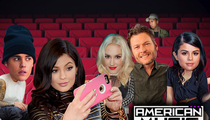 American Music Awards -- Serious Seat Shufflin' After Tyga and Kylie Split