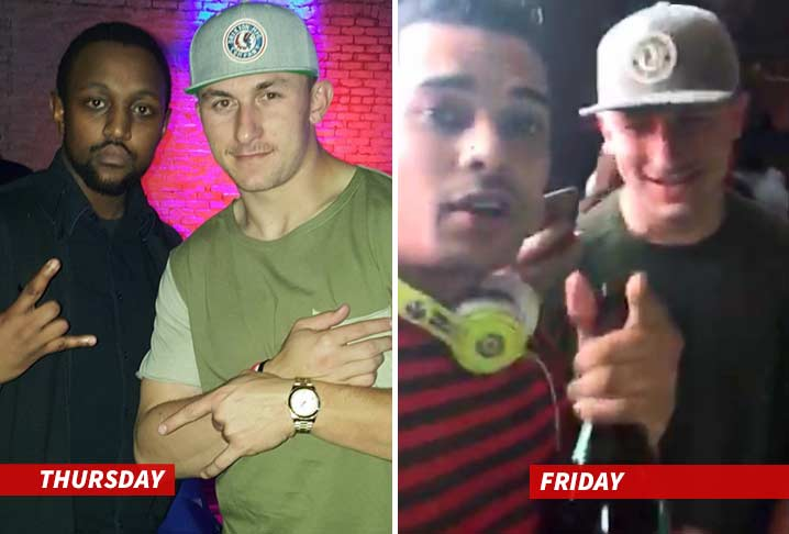Johnny Manziel -- Photo from Thursday Night Turn Up | TMZ.com