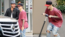 Justin Bieber -- Sorry Everyone ... I Just Had to Scoot (PHOTO)