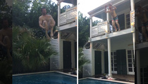 Dale Earnhardt Jr. -- Hey Ron Burgundy ... CANNONBALL!!!