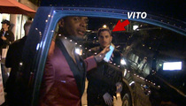 Michael Sam -- BACK ON WITH VITO ... Hit L.A. Club Together