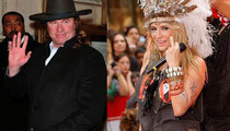 Celebrity Pilgrims and Indians -- the Festive Photos!