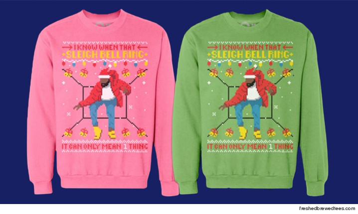 Drake: 'Hotline Bling' Xmas Sweaters Selling Like Holiday Hotcakes ...