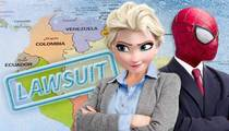 Disney & Marvel -- You Steal Elsa & Spider-Man, We'll Sue You for MILLIONS!