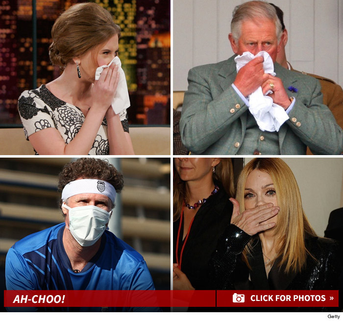 "photo of celebrities with the flu в""– 124346"