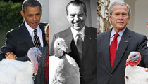 Presidents Pardon Poultry -- See The Thankful Turkeys!