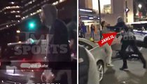 NBA's Jahlil Okafor -- STREET FIGHT ... KO's Man In Boston (Video)