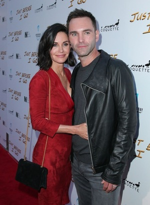 Courteney Cox & Johnny McDaid -- Before the Split