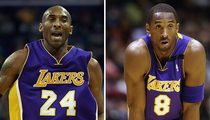 Kobe Bryant -- Lakers Mulling Jersey Issue ... Which Number to Retire?