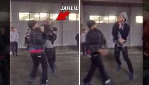 Jahlil Okafor -- 2ND FIGHT IN BOSTON (Video)