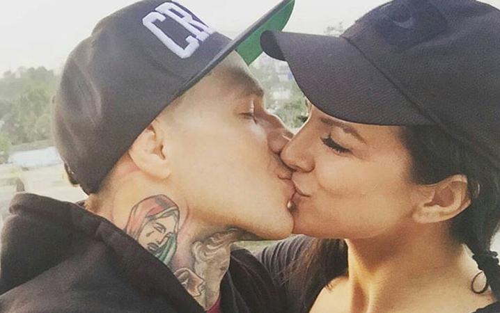 Gina Carano Hot Kiss