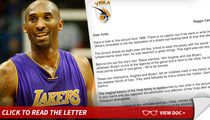Kobe Bryant -- Gets Offer From Dad's Italian Team ... In Majestic Letter