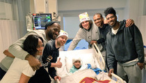 LeBron James -- Team Trip to CLE Children's Hospital