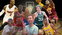 TMZ Staff Picks -- Who's Your Favorite Basketball Player?
