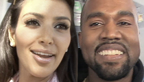 Kim Kardashian & Kanye West -- It's a Boy!  Baby #2 Comes Early