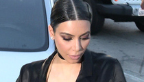 Kim Kardashian -- Long, Painful Birth ... This Placenta's Killing Me
