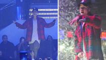 Justin Bieber -- Miami Crowd Gets LIV-e!! (VIDEO)