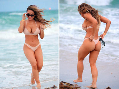 50 Cent's Baby Mama Daphne Joy -- A Rear Beauty (PHOTOS)