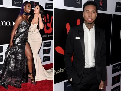 Kylie and Tyga -- We Appear Separate But We're Still Together (PHOTOS)